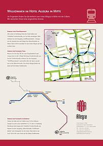 Anfahrt zum Hotel Allegra in Berlin Mitte
