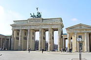 Brandenburg Gate in Berlin-Mitte