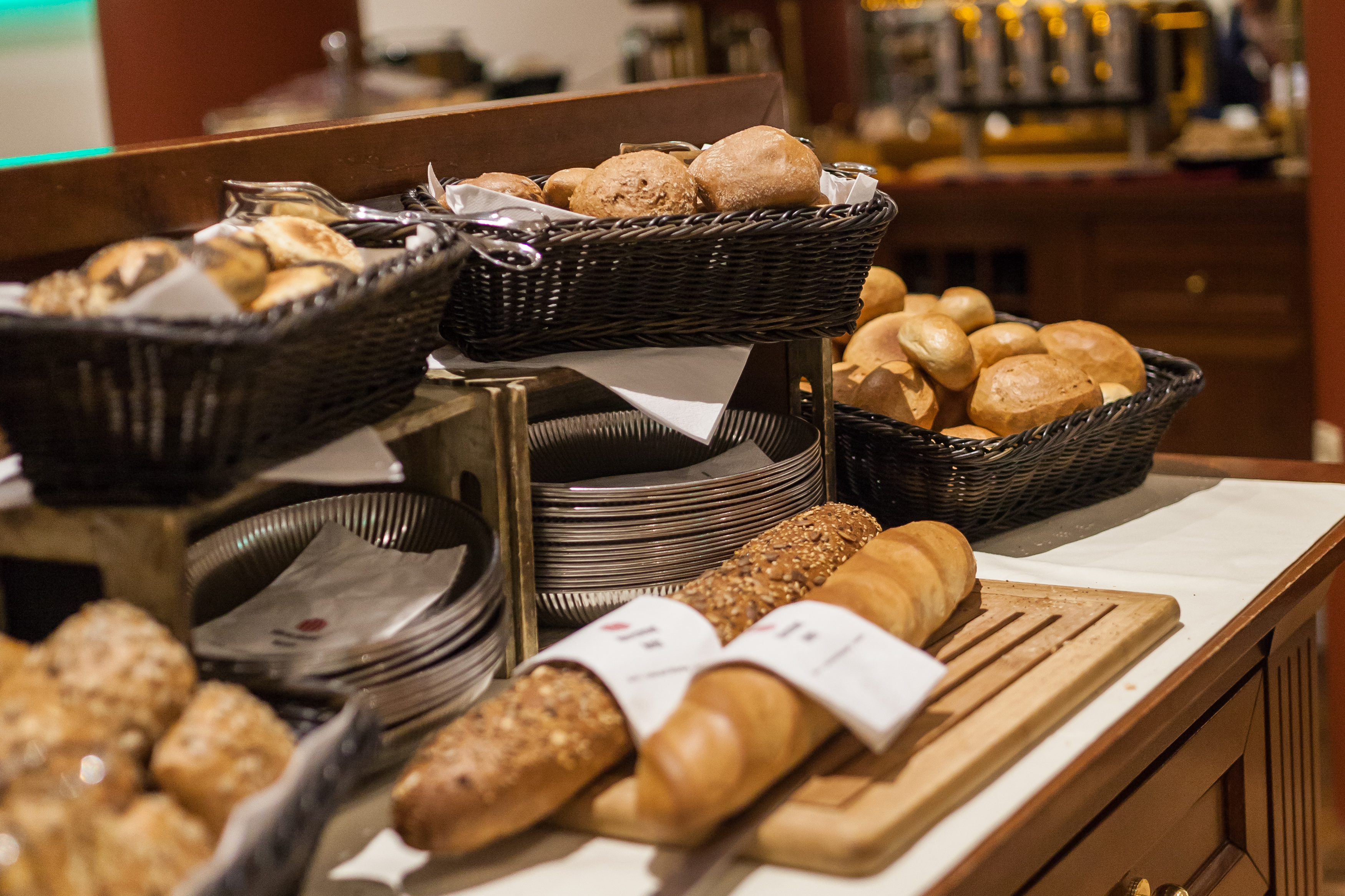 Breakfast at Hotel Allegra Berlin Mitte