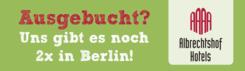 Die Albrechtshof Hotels gibt es dreimal in Berlin