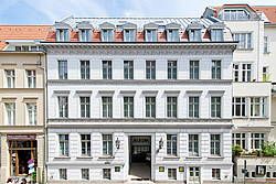 Front View of Hotel Allegra in Berlin-Mitte