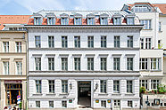 Front View of Hotel Allegra in Berlin-Mitte