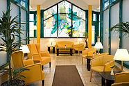 Lobby of Hotel Allegra in Berlin-Mitte