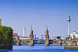 Oberbaumbrücke at Berlin Warschauer Straße