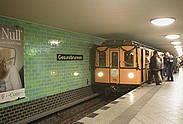 Unterweltentour U-Bahn Gesundbrunnen